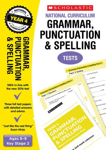 Grammar, Punctuation and Spelling Test (National Curriculum Tests)