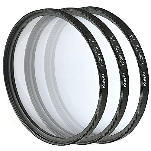 Kaiser fototechnik-nahlinsen de 58 mm avec bonnette 1/2/4 avec étui de rangement