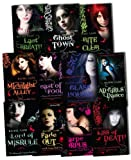 The Morganville Vampires Collection 11 Books Set (Last Breath, Bite Club, Ghost Town, Glass Houses, The Dead Girls Dance, Midnight Alley, Feast of Fools, Lord of Misrule, Carpe Corpus, Fade Out, Kiss of Death) Rachel Caine
