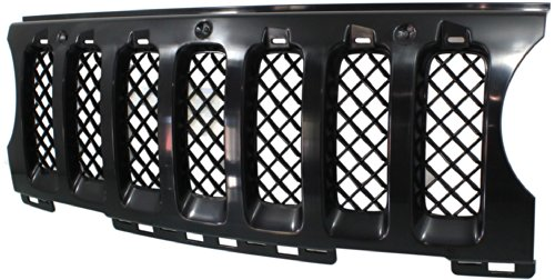 Evan-Fischer EVA195052913324 CAPA Grille Insert Grill CH1210110C 68091527AA (2014 Jeep Patriot Grill Insert compare prices)