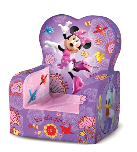 picture Marshmallow - High Back Chair - Disney's Minnie Mouse
