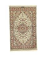 L'Eden del Tappeto Alfombra Kashmirian F/Seta Marrón / Multicolor 122  x  75 cm