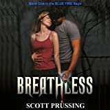 img - for Breathless: Blue Fire Saga book / textbook / text book