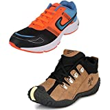 Tempo Men's Combo Pack Of Sports Shoes (Running & Sneakers)