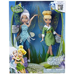 Amazon.com: Disney Fairies - Tink and Periwinkle - Friendship Forever