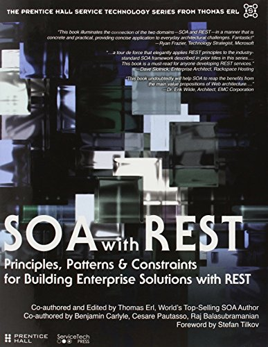 SOA with REST: Principles, Patterns & Constraints for Building Enterprise Solutions with REST (Prentice Hall Service-Oriented Computing Series from Thomas)