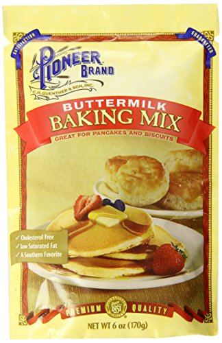 Pioneer Brand Buttermilk Biscuit and Baking Mix, 6 Ounce (Pack of 12) (Pioneer Pancake Mix compare prices)
