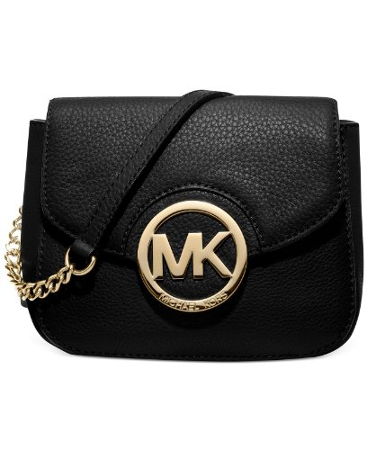 Michael Michael Kors Fulton Small Crossbody In Black