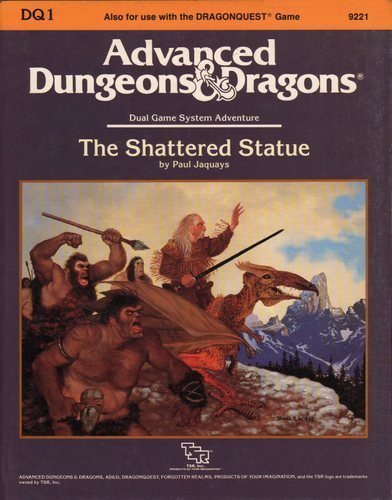 The Shattered Statue (Advanced Dungeons And Dragons/Dragonquest Module Dq1)