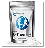 Micro Ingredients Pure L-Theanine 99% Powder (55 g/1.94 oz)