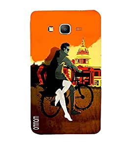 Omnam Boy Riding Bicycle With Girl Near Washigton Dc Printed Back Cover Case For Samsung Galaxy Grand Prime