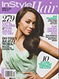In Style Hair Magazine Spring 2013 (Zoe Saldana)