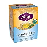Yogi Teas Stomach Ease Tea Bags, 16 Count