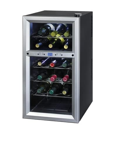 Kalorik Thermoelectric Dual-Zone 18-Bottle Ventilated Wine Cooler