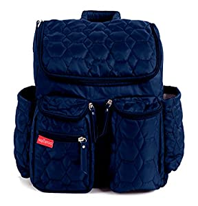 Wallaroo Diaper Bag Backpack with Stroller Straps, Wet Bag and Diaper Changing Pad - For Women and Men from Gecko Active