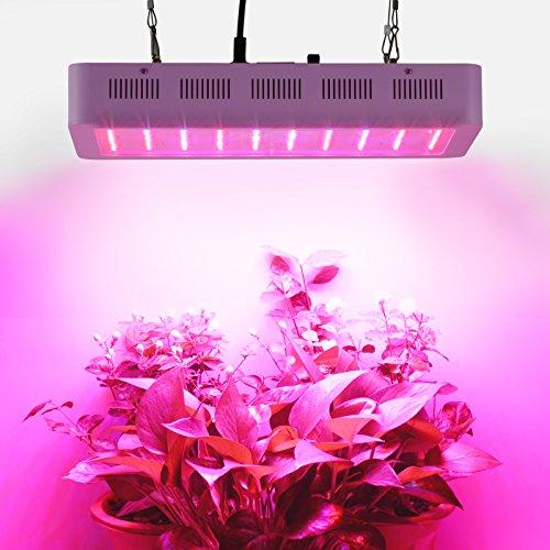 Roleadro 300w Led Grow Luci per Piante Fiore Agro Lampade per Coltivazione Indoor Illuminazione Piante 400x210x60mm