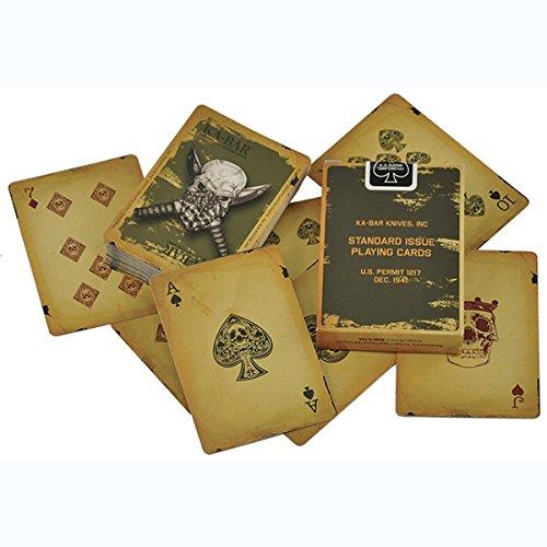 Kabar Cutlery 2-9914-8 Playing Cards, Skull