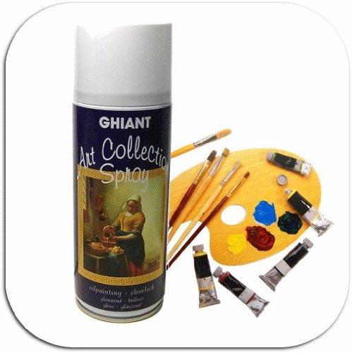 Schlußfirnis-spray pour la peinture à l'huile-brillant - 400 ml