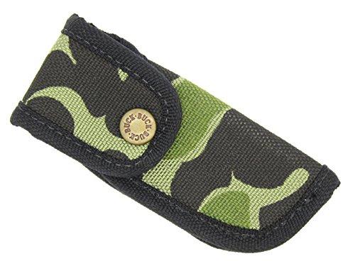 Buck Camo Cordura Nylon Knife Sheath For 422 442 484 532 500 112 Ranger Bucklite - Made In Usa