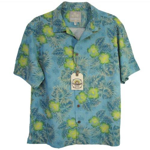 Margaritaville Men'S Moonlight Shadow BBQ Shirt, Adriatic Blue, X-Large