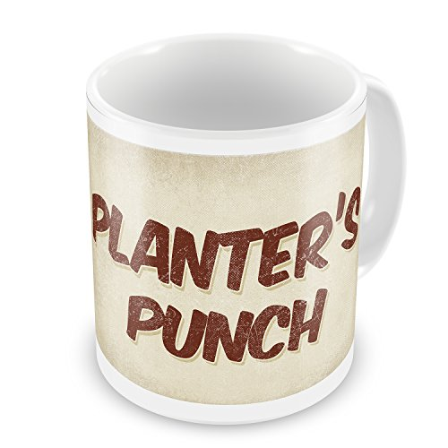 Coffee Mug Planter'S Punch Cocktail, Vintage Style - Neonblond