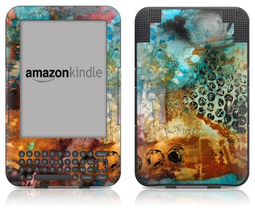 DecalGirl Kindle Skin (Fits Kindle Keyboard) Disarray (Matte Finish)