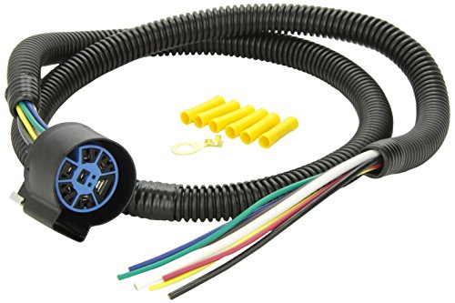 pollak trailer wiring harness connector pollak 11-998 4' pigtail wiring harness 732085119987 ...