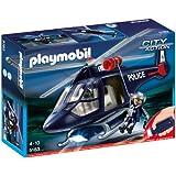 Playmobil 5183 Polizeihubschrauber mit LED Suchscheinwerfer