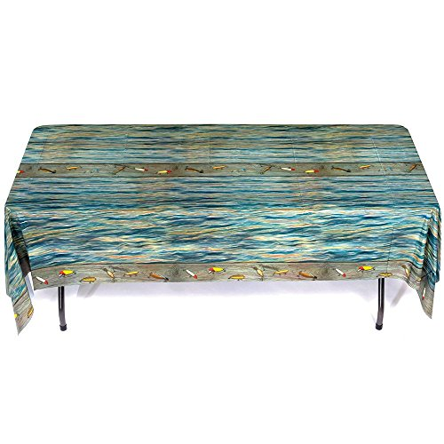 Gone Fishin' Table Cover