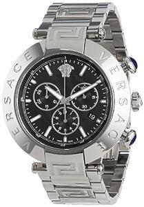 Versace Men's VA8020013 Reve Chrono Round Stainless Steel Date Watch