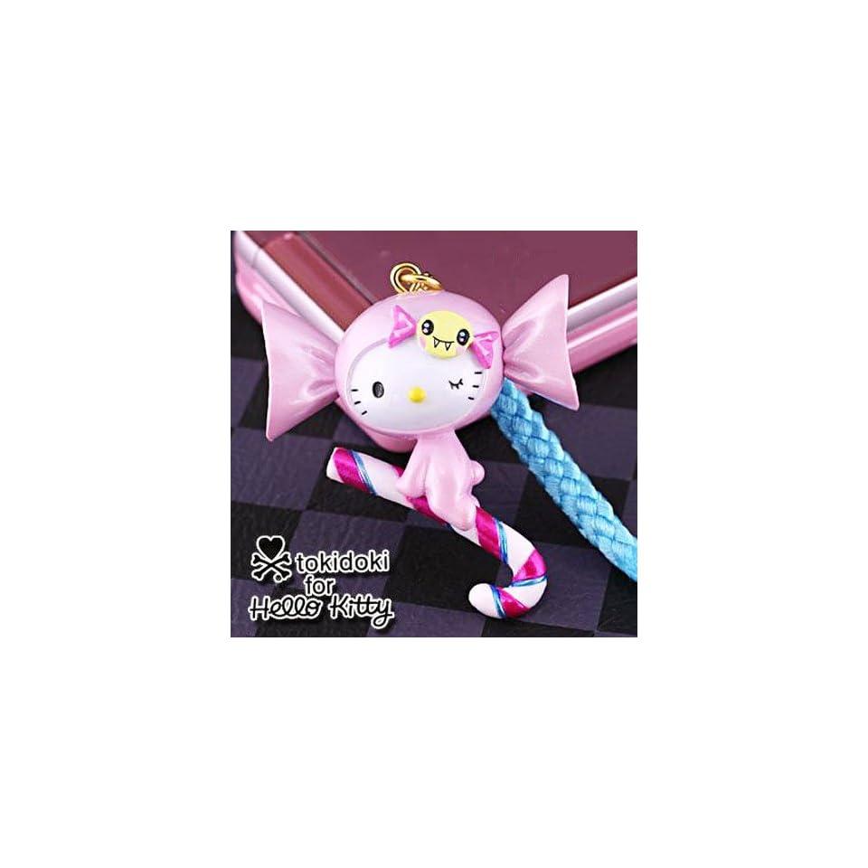 tokidoki x Sanrio Hello Kitty Charm & Cell Phone Strap   Candy Cane