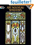 Art Nouveau Windows. : Stained Glass...