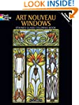 Art Nouveau Windows Stained Glass Col...