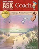 img - for New Jersey Ask Coach Gold Edition Language Arts Literacy (Grade 4) (Ask Coach) book / textbook / text book
