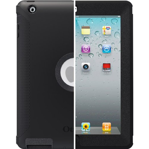 OtterBox Defender Series Case for iPad 2/3/4, Black, Frustration Free Packaging (77-23662) (Portrait Packaging Boxes compare prices)