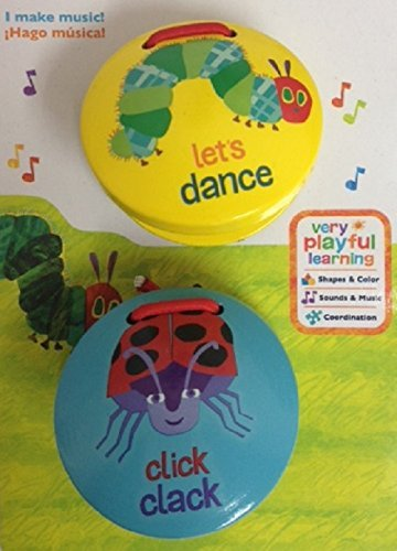 The World of Eric Carle The Very Hungry Caterpillar Music CASTANETS by Kids Preferred - 1