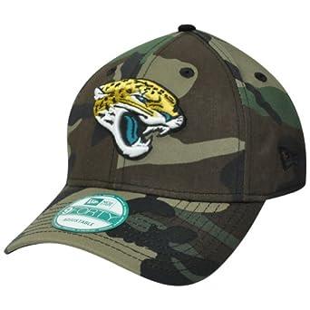 NFL Jacksonville Jaguars Basicamo 9Forty Adjustable Cap by New Era