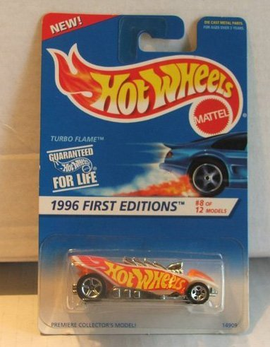 Hot Wheels Turbo Flame 1996 First Editions 8 of 12 369