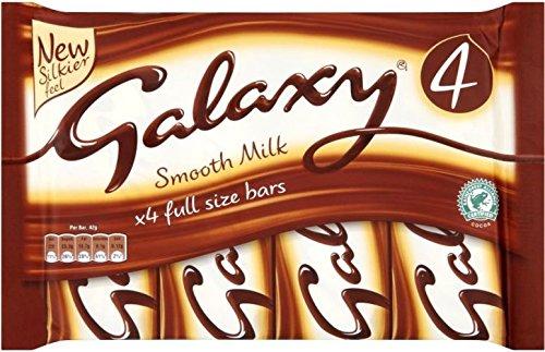 Galaxy Milk Chocolate Bar (4x42g)
