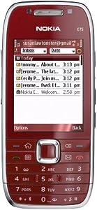 Nokia E75 rouge débloqué logiciel original kein Vertrag