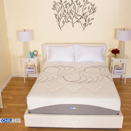 "Chilibed ""Plush"" Dual Zone 14-Inch Olympia Chilibed Mattresses, King"