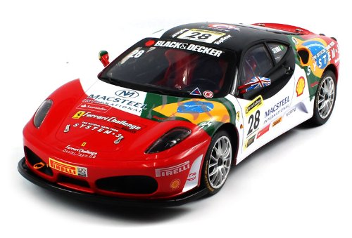 Save Price Licensed Ferrari F430 Challenge Electric RC Car 1:12 RTR Huge Size  Review