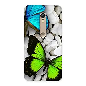 The Awesome Colorfull Butterflies Back Case Cover for Motorola Moto X Style