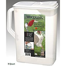 Bird Seed Container 8 QT
