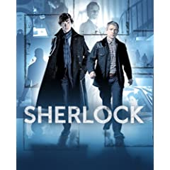 Sherlock - Benedict Cumberbatch and Martin Freeman TV Poster
