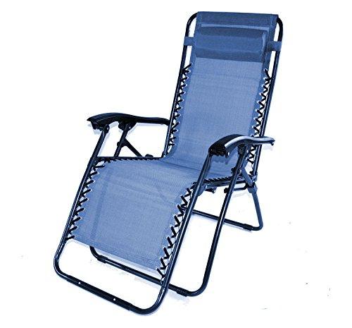 Relaxliege nizza luxury sonnenliege farbe ocean blue mit sitz bzw liegeposition neuestes sommermodell
