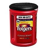 Folgers 100% Mountain Grown Classic Roast Ground Coffee - 48 oz