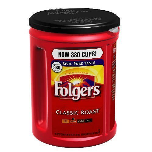Folgers 100% Mountain Grown Classic Roast Ground Coffee - 48 oz
