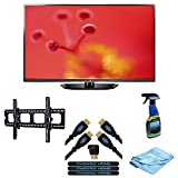 LG Electronics 50PN6500 50-Inch 1080p 600Hz Plasma HDTV (Black) (2013 Model) with Wall Mount, Screen Cleaner and... by LG