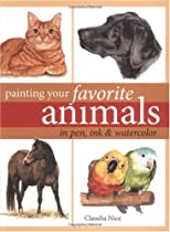 Free Painting Your Favorite Animals in Pen, Ink and Watercolor Ebooks & PDF Download